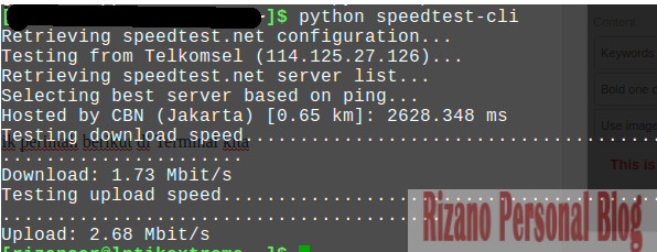 cara-speed-test-linux