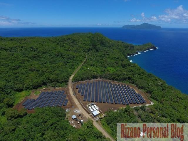 Pulau Terpencil di Pasifik Selatan Sepenuhnya Memanfaatkan Panel Surya