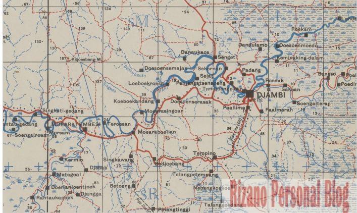 peta jaman dulu jambi