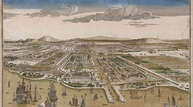 Peta Batavia (Jakarta) 1930-an